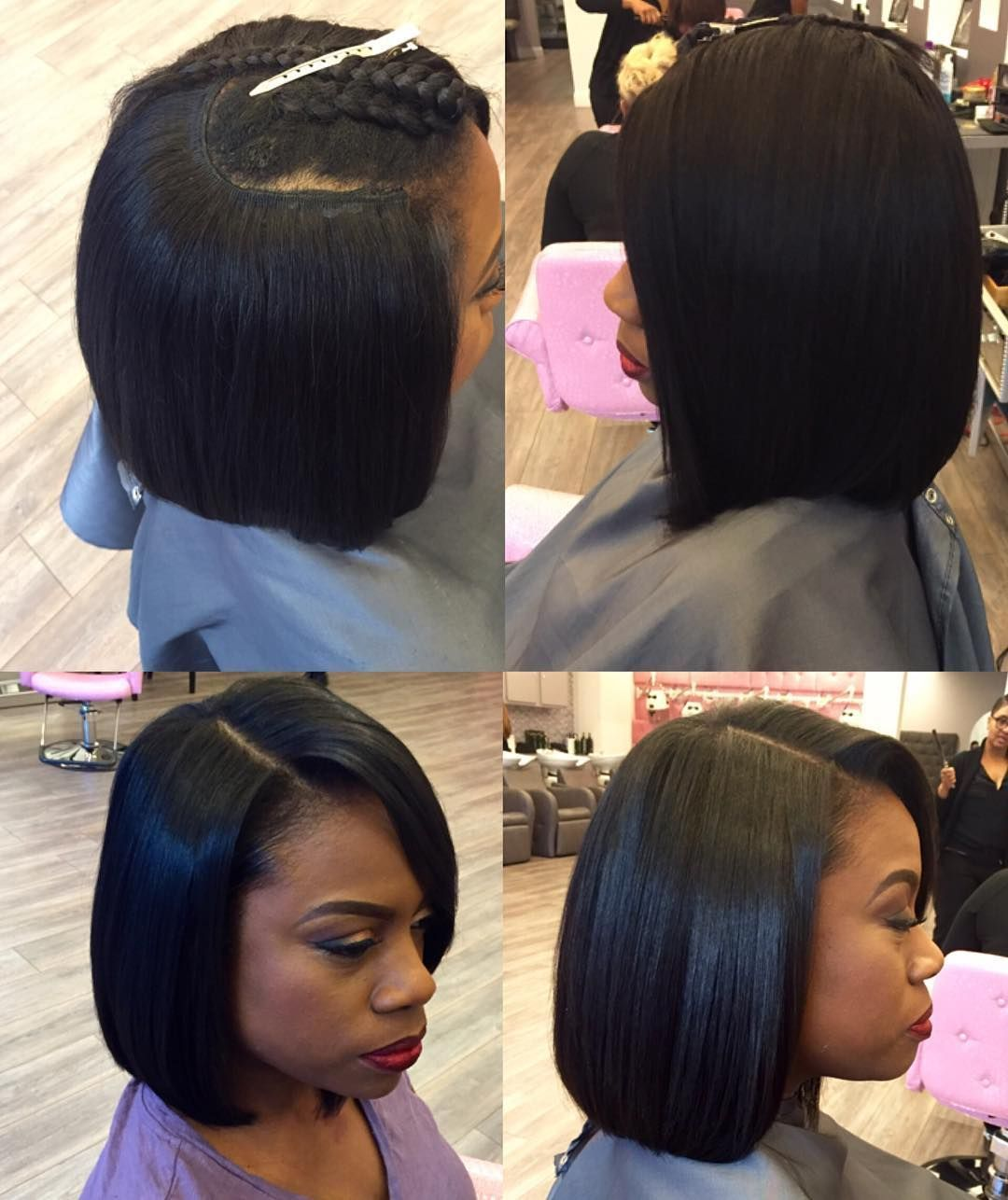 Black Hairstyles Quick Weave Messy Pinlevoria On Quick Weave In