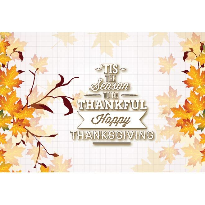 Free vector illustration of the season to be thankful happy free vector illustration of the season to be thankful happy thanksgiving poster greeting card template on m4hsunfo