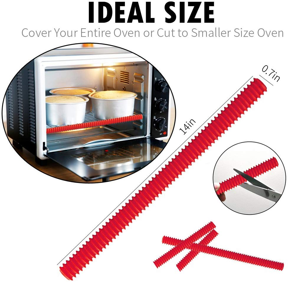 DanziX Oven Rack Shields, 4 Pack Silicone Oven