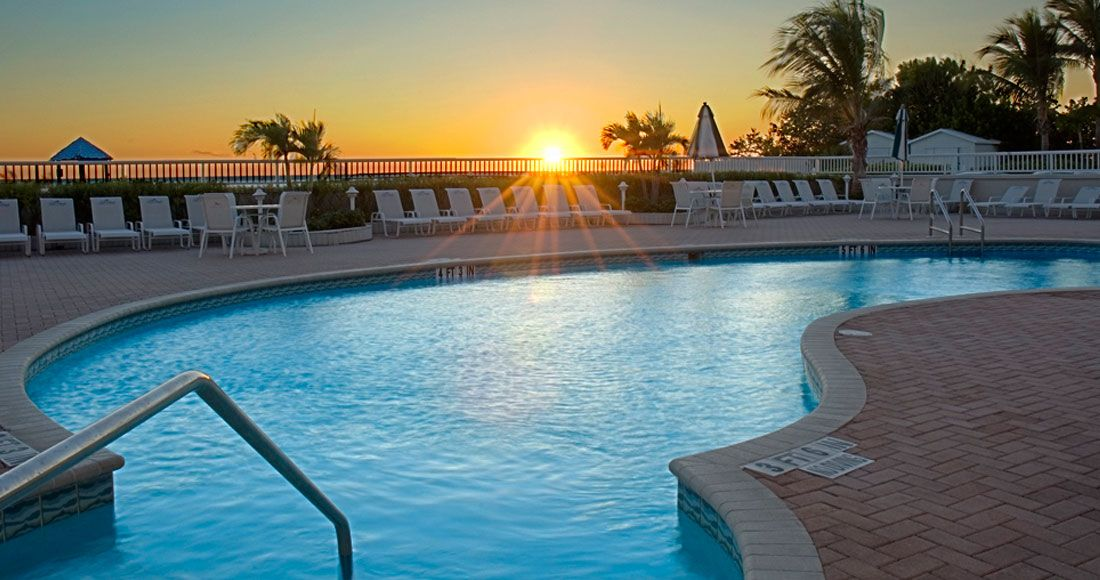 The Pool At Lido Beach Resort Sarasota Hotel Opal Collection