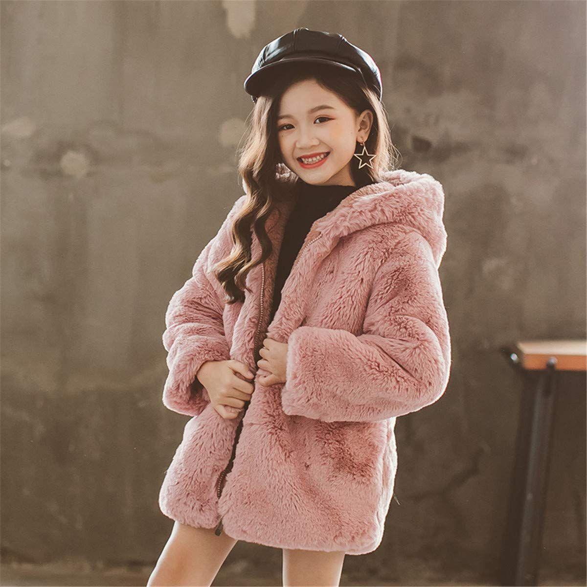 Miss Bei Kids Girls Spring Winter Warm Fur Cartoon Coats Dress Hooded Snowsuit Outerwear Jackets Ad Winter War Girls Winter Coats Cartoon Coat Warm Fur [ 1200 x 1200 Pixel ]
