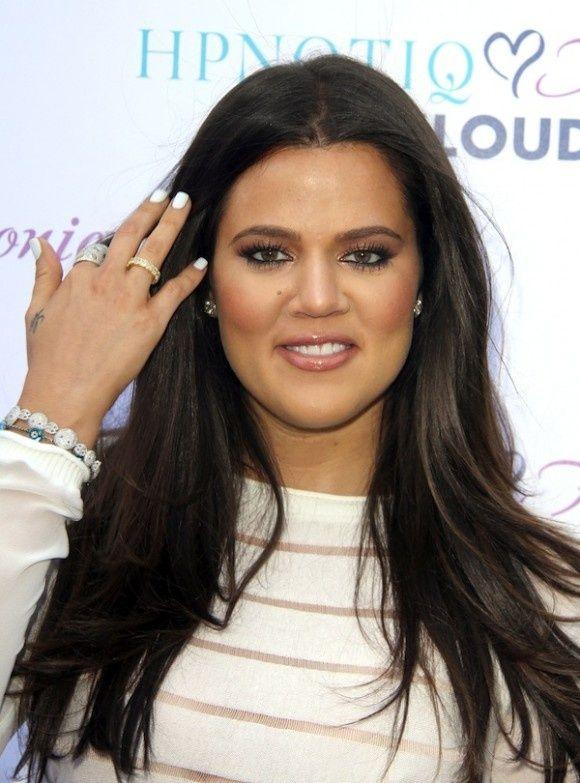 khloe kardashians dark brown hair love herso tempted