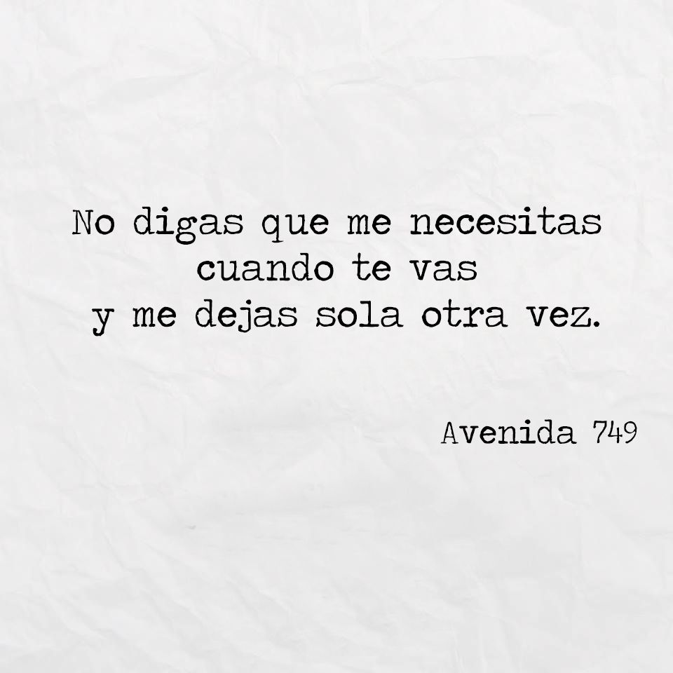 frases and avenida 749 image on We Heart It