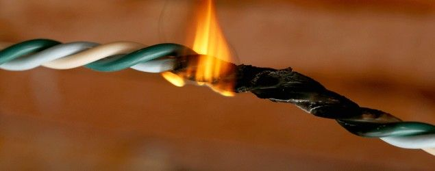Outdated electrical wiring can become a serious fire hazard. (Africa Studio/Shutterstock)
