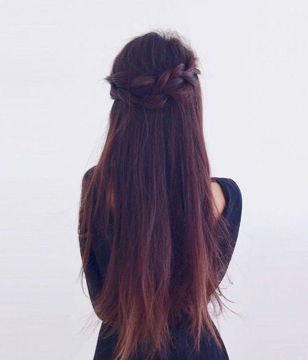 Sienazhang Long Hair Styles Hair Styles Rebonded Hair