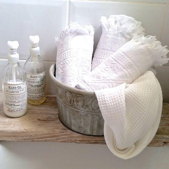 Dekoration und Kosmetik für das Badezimmer Barefoot Living by Til - dekoration für badezimmer