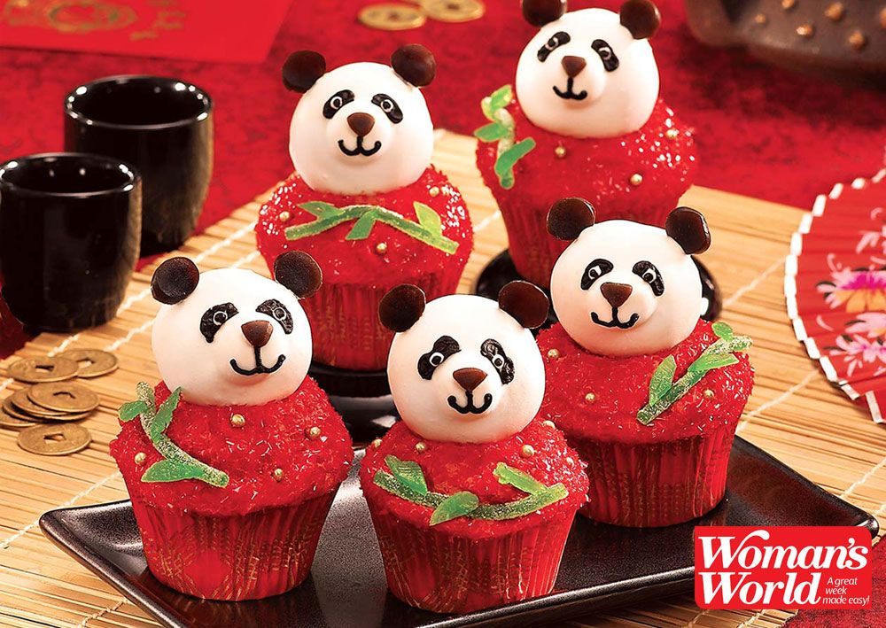Celebrate Chinese New Year With This Panda Cupcake Recipe ...