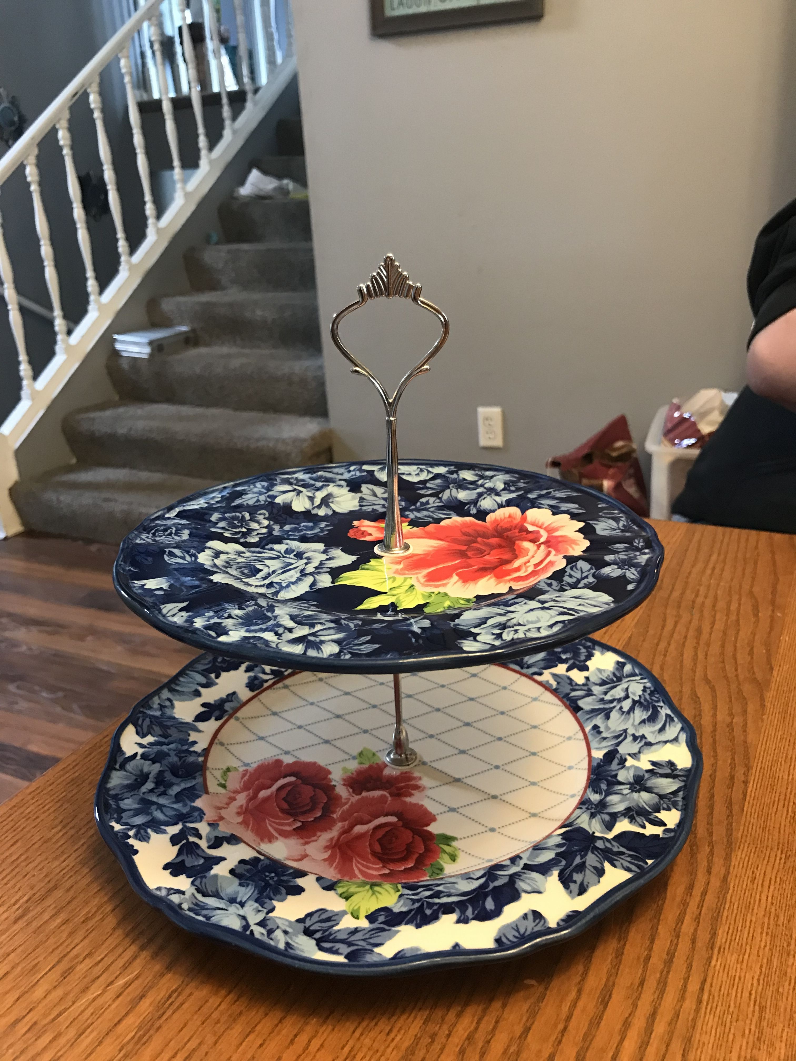 Pioneer Woman Center Piece Heritage Floral With Images Pioneer