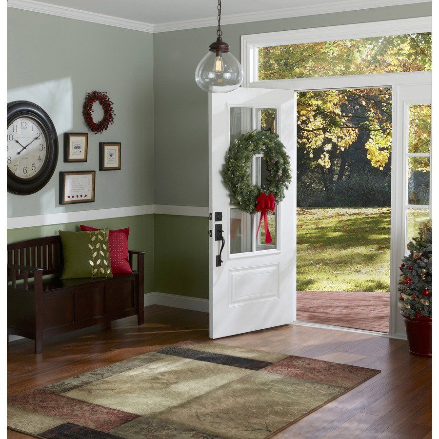 Entry hallway lighting  allen  roth in Bristow EdisonStyle Pendant Light with Clear