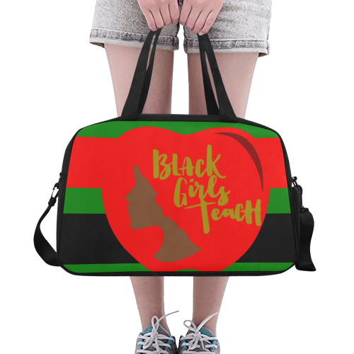 9fe00905f11d Black Girls Teach Carry On Travel Bag Under Compartment For Shoes Unique  Design