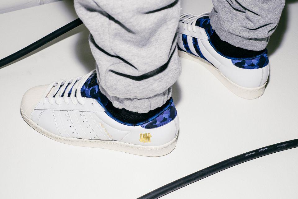 A Closer Look at the BAPE x Undefeated x adidas Originals