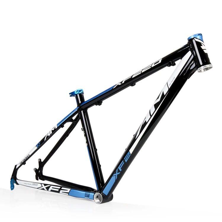 109) 2015 AM XF220 XC AL6061 mountain bike frame color black blue ...