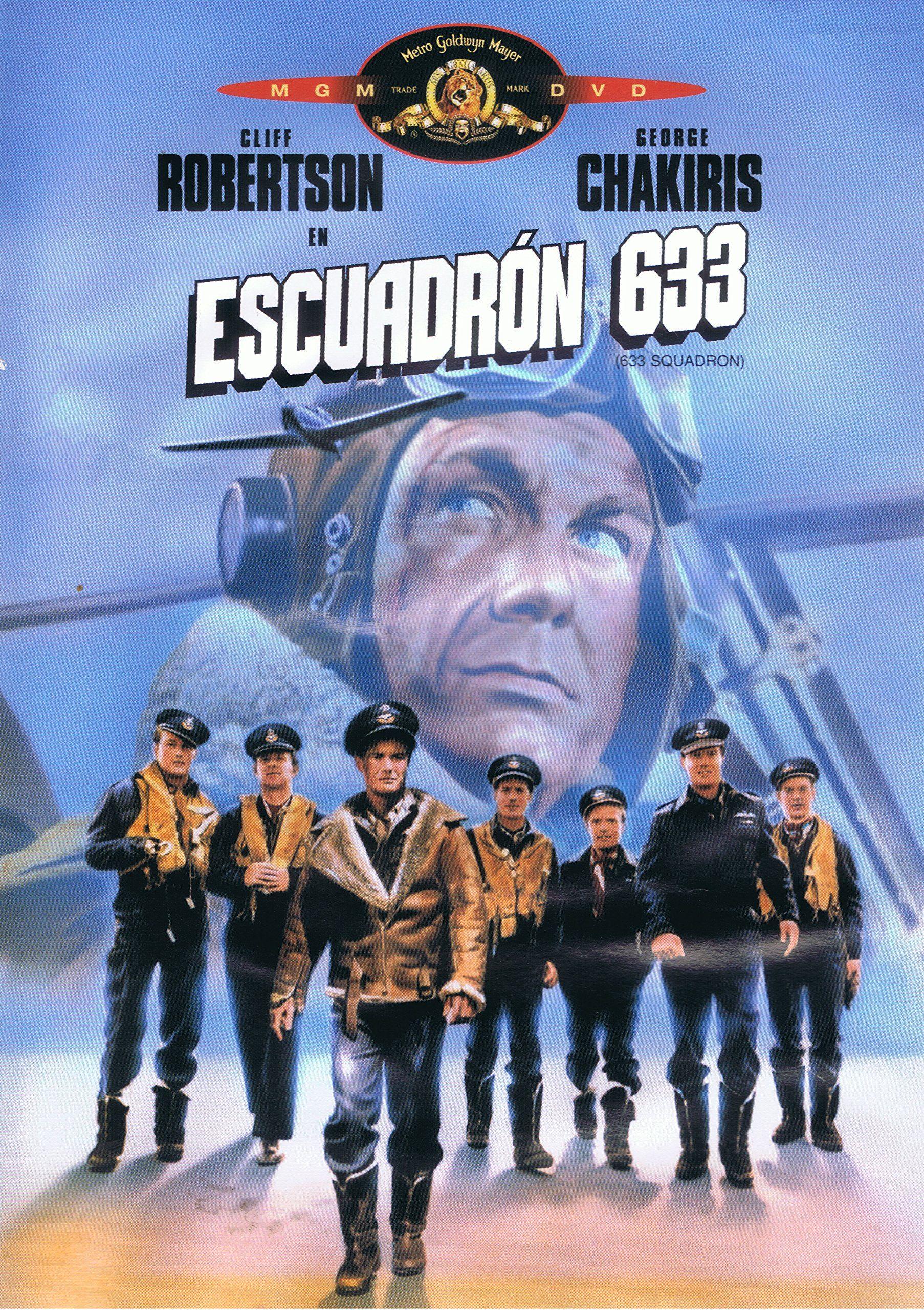Escuadron 633 Dvd Escuadron Dvd Carteles De Peliculas Famosas Cine Belico Peliculas