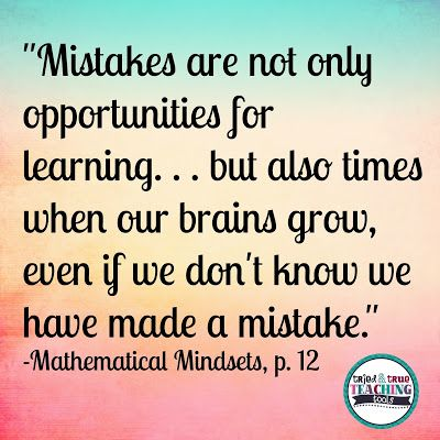 Image result for mistakes help our brains to grow