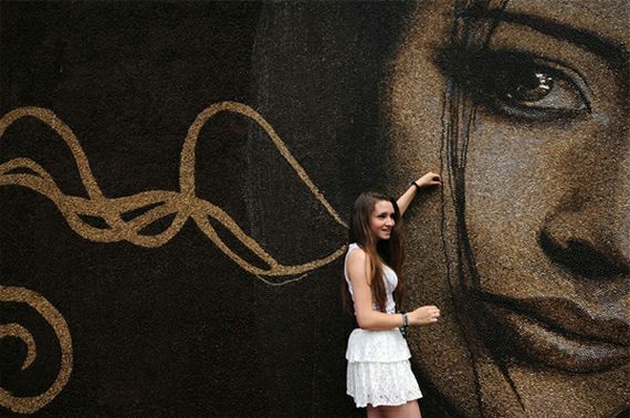 Espresso Yourself: World's Largest Coffee Bean Mural