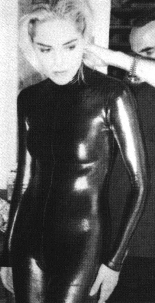 652daa581 Black Latex Catsuit worn By Sharon Stone. Buy your Catsuit for dance ...
