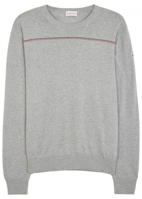 moncler grey jumper