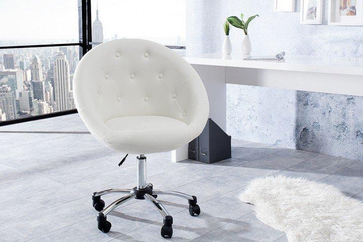 Dieser Design Drehstuhl Couture Ist Hochwertig Im Design Und Ruckenschonend Zugleich Entspannung Pur Sogar Wahrend Der Retro Mobel Burosessel Lounge Design
