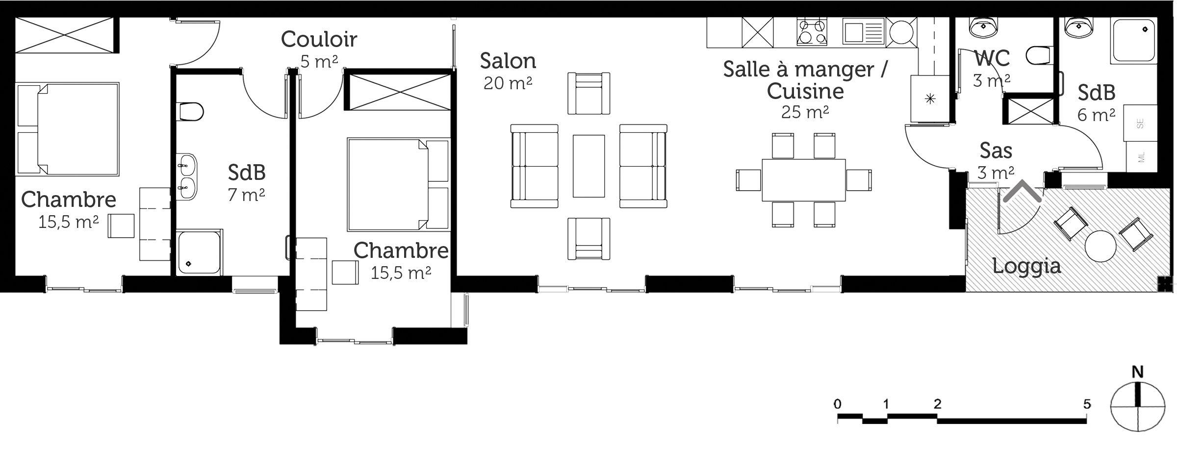 Plan Au Sol Plan Maison Plan Maison Plain Pied Maison Plain Pied