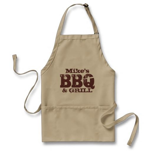 I Heart Love Texas Silhouette Cooking Apron With Pockets
