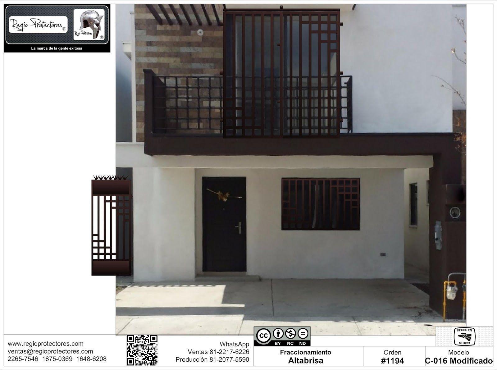 Regio protectores protectores para ventanas puertas for Casas contemporaneas modernas