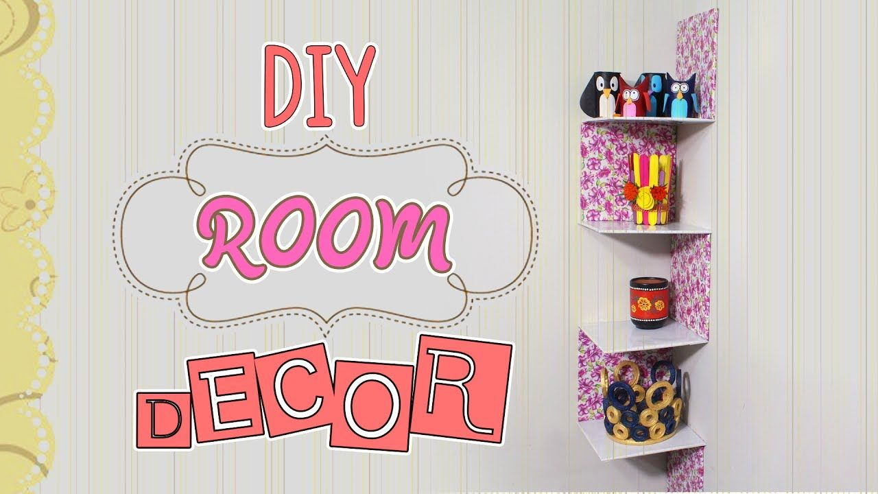 16 Minute Crafts / Diy Room Decor with Cardboard boxes / easy ideas