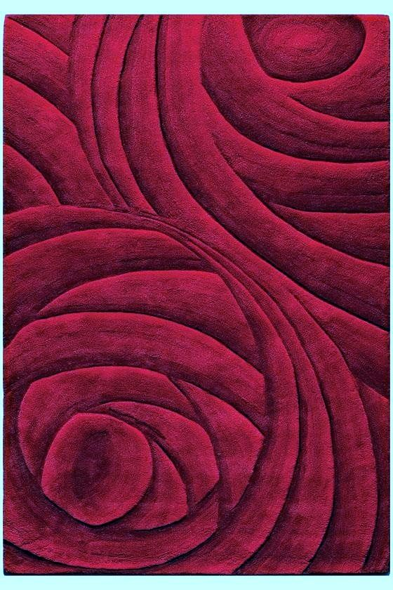Color Borgo 241 A Burgundy Wool Area Rugs Shades Of