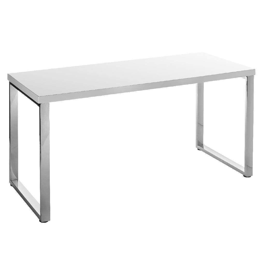 Workspace Moda Bookcase Desk White  Warehouse Stationery, NZ