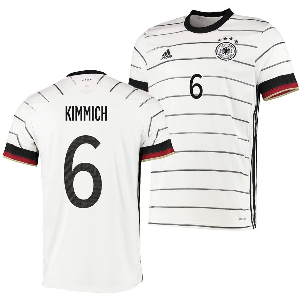 2020 Euro Germany Joshua Kimmich 6 Home Soccer Jersey Shirt In 2020 Jersey Shirt Soccer Jersey Jersey
