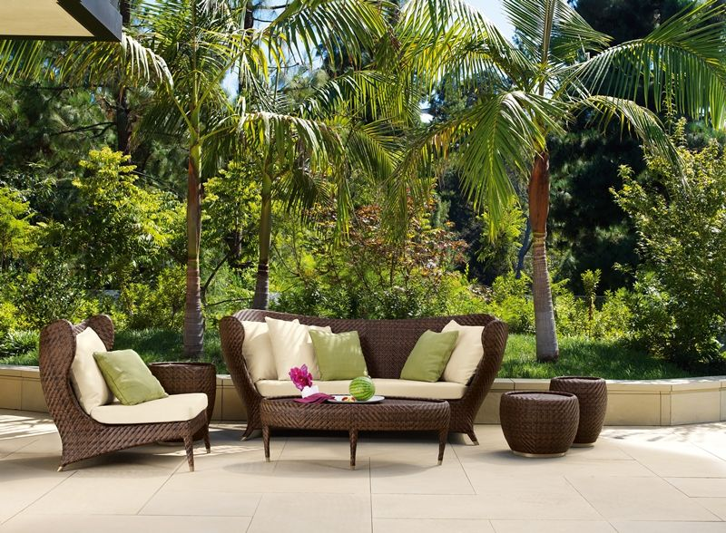Outdoor Wicker Patio Furniture, Patio Furniture Palm Beach Gardens