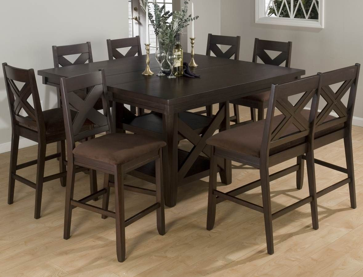 Jofran 453 Series Square/Rectangular Counter Height Dining Table In  Espresso     Lowest Price Online On All Jofran 453 Series  Square/Rectangular Counter ...