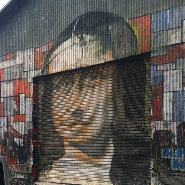 Mona Lisa garage door. & Mona Lisa garage door.   Mona Krazi Lisa   Pinterest   Mona lisa ...