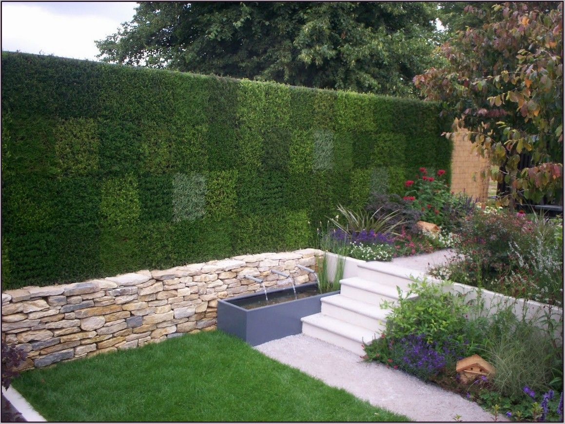 Backyard garden ideas you can rely on | Back gardens ... on Back Wall Garden Ideas id=94403