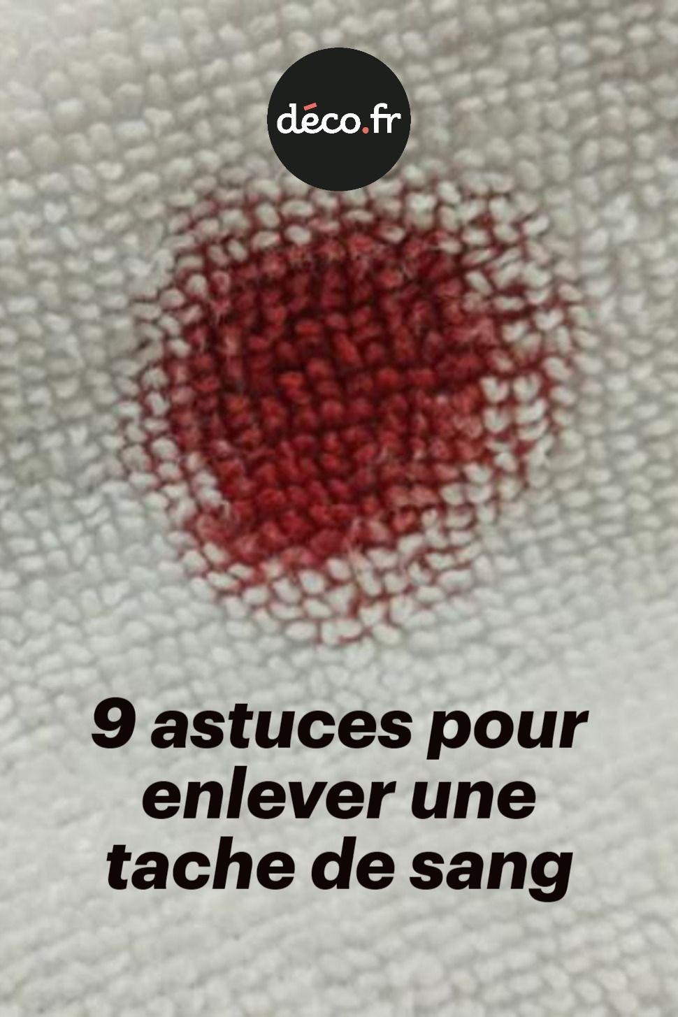 Nettoyer Une Tache De Sang : nettoyer, tache, Astuces, Enlever, Tache, Sang,