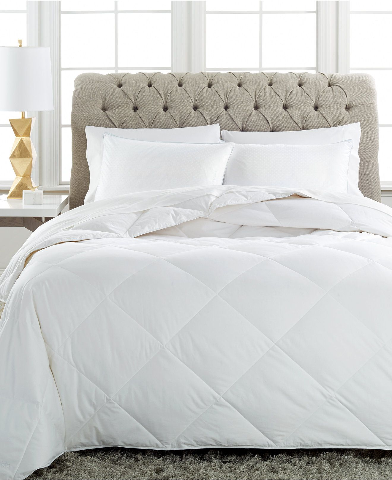 Charter Club Vail Collection Level 1 Extra Light Warmth Down Comforters Alternative Bed Bath Macy S