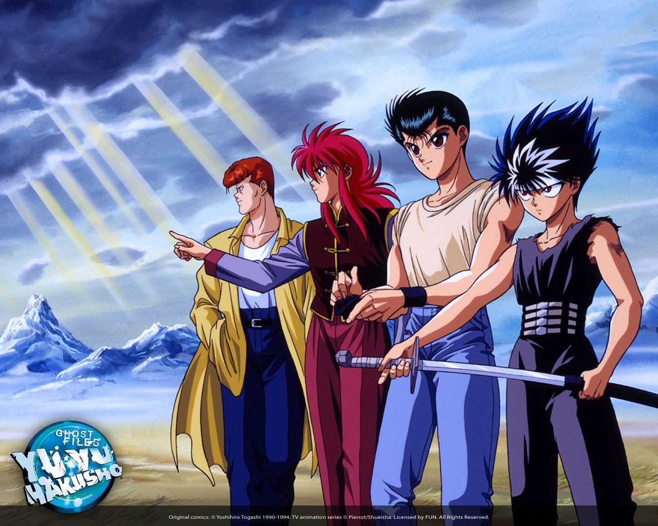 Yuyu Hakusho Hd Wallpapers And Backgrounds Anime Nerd Anime