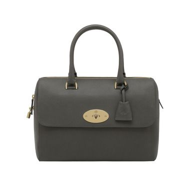 8499fdf0d5 Mulberry Gift Kaleidoscope | Grey - Del Rey in Mole Grey Grainy Calf ...