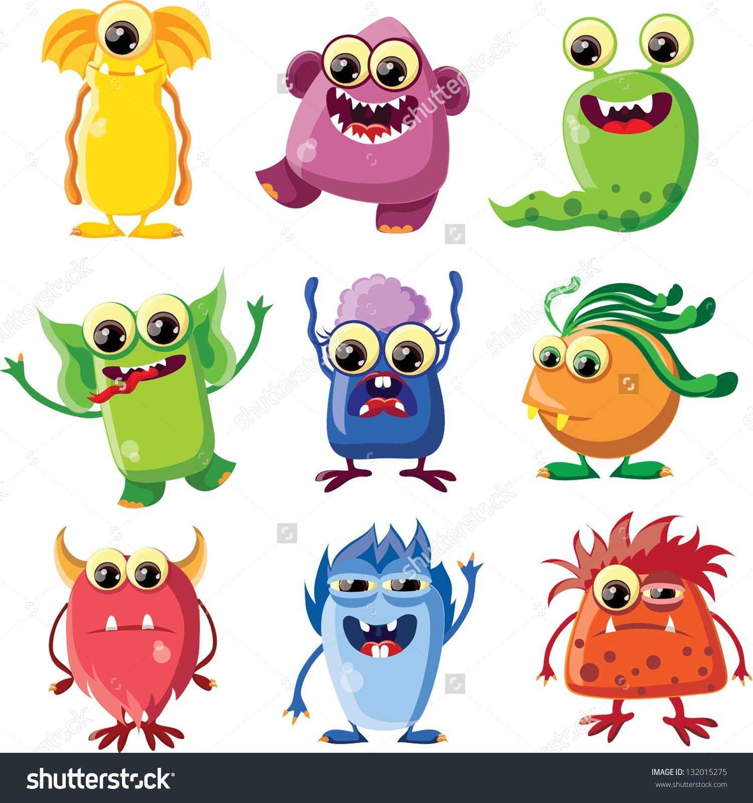 dibujos monstruos color buscar con google arte pinterest
