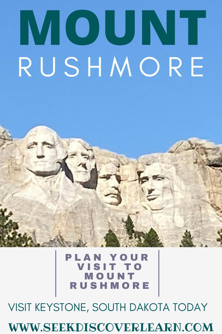 Plan Your Visit To Mount Rushmore Mount Rushmore South Dakota Travel South Dakota