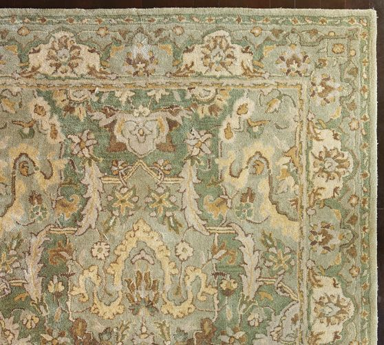 Reading Room Thyme Persian Style Rug Pottery Barn