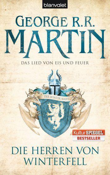 George R R Martin Das Lied Von Eis Und Feuer Das Lied Von Eis Und Feuer Die Herren Von Winterfell Game Of Thrones Bucher