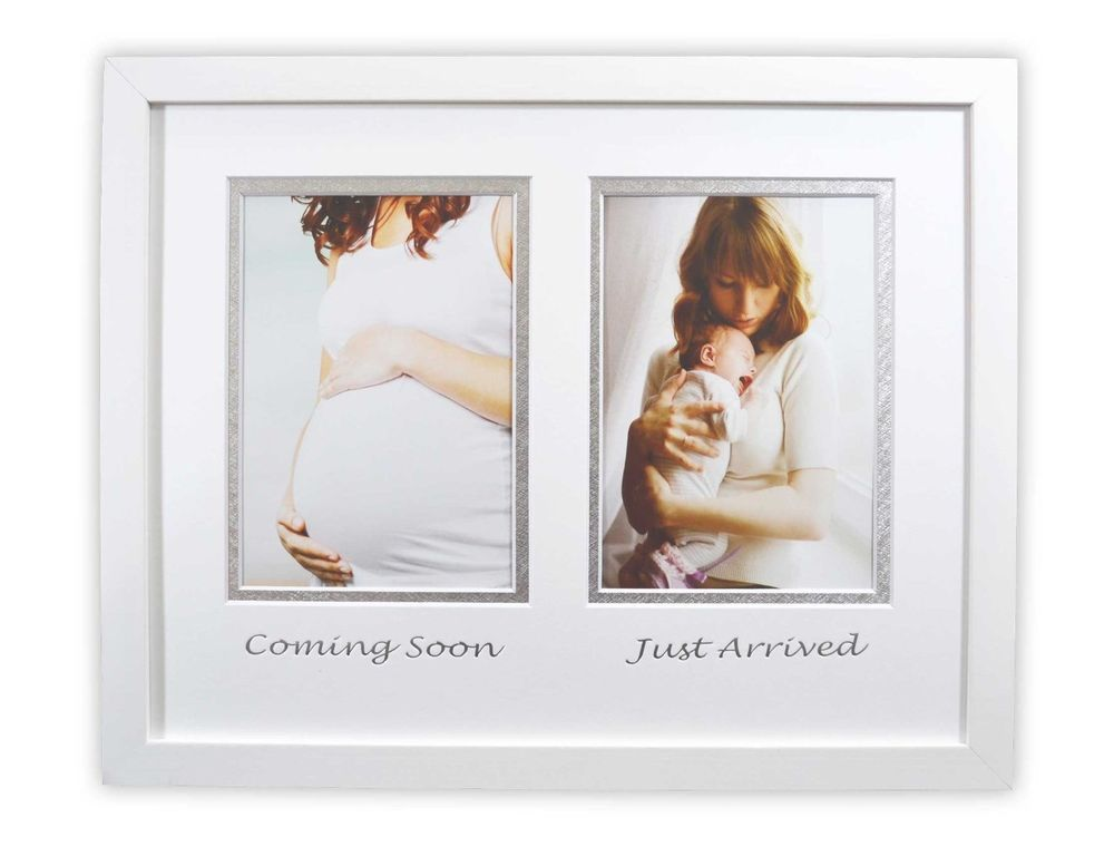 Gift For New Mom 11x14 Inch White Solid Wooden Wall Hanging Picture Frame Goldenstateframing Baby Frame Christening Gifts For Boys Gifts For New Moms