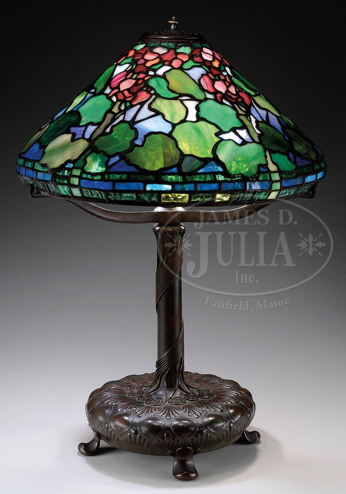 Tiffany Geranium Lamp