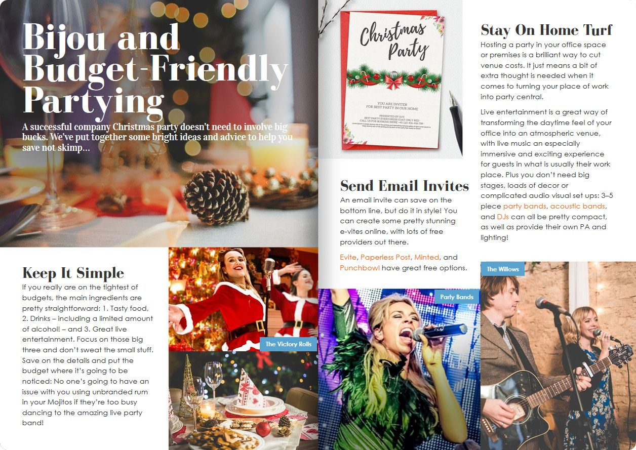 Company Christmas Party Entertainment Ideas Part - 43: Pages 12 U0026 13 Of Alive Networku0027s Ultimate Xmas Party Entertainment Brochure  ...