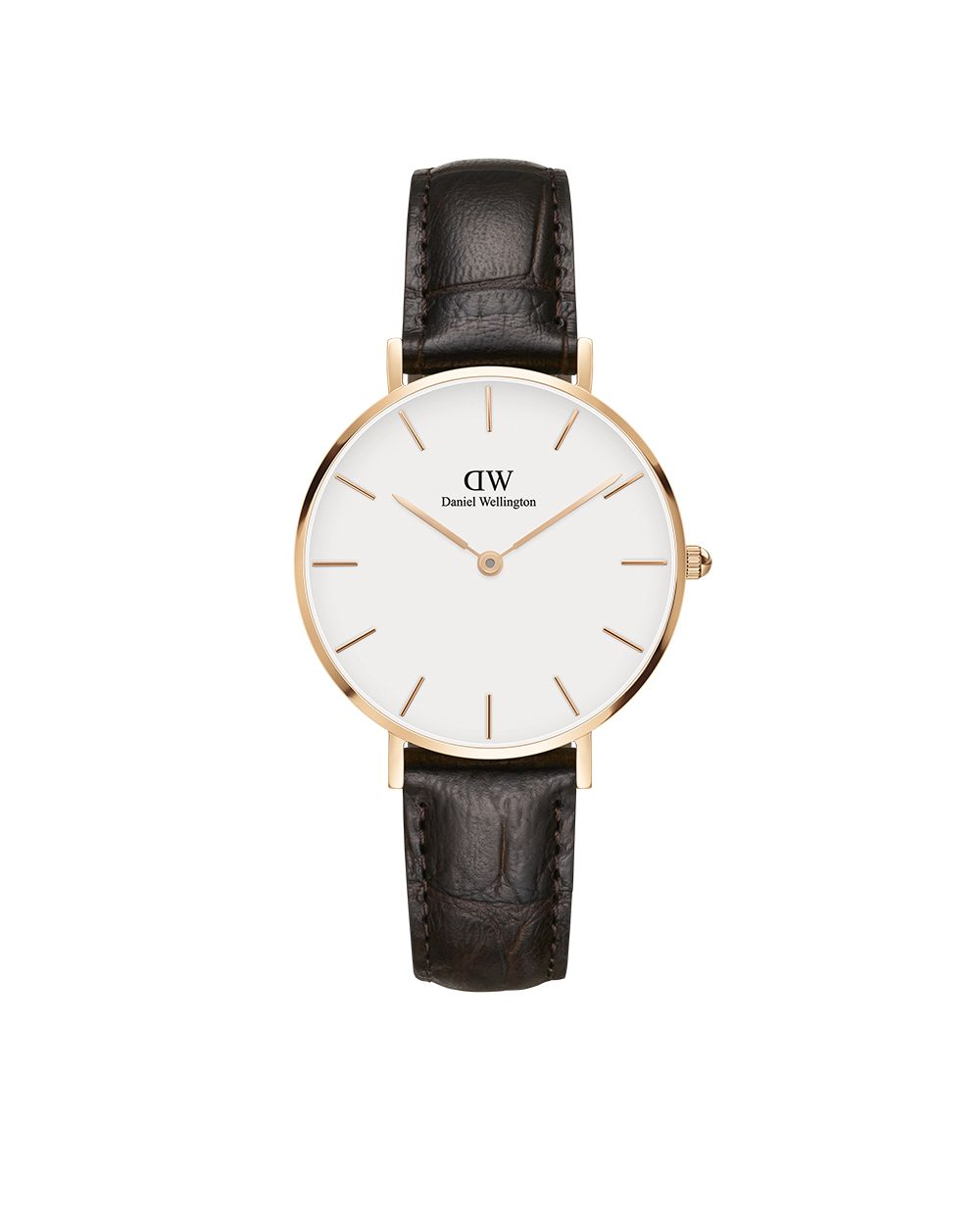 812245ac65a4 The Classic Petite York (Rose Gold) in White