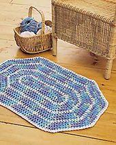 Ravelry: Oval Rug pattern by Lily / Sugar'n Cream
