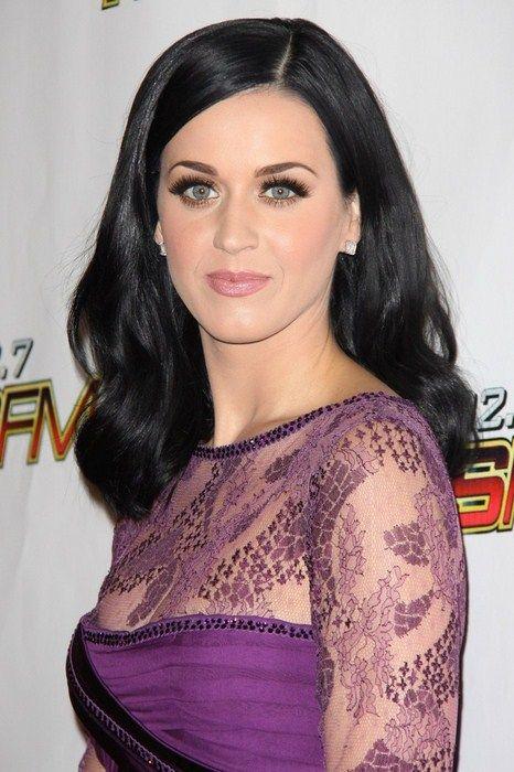 I Love The Blue Eye Black Hair Look Katy Perry Gallery