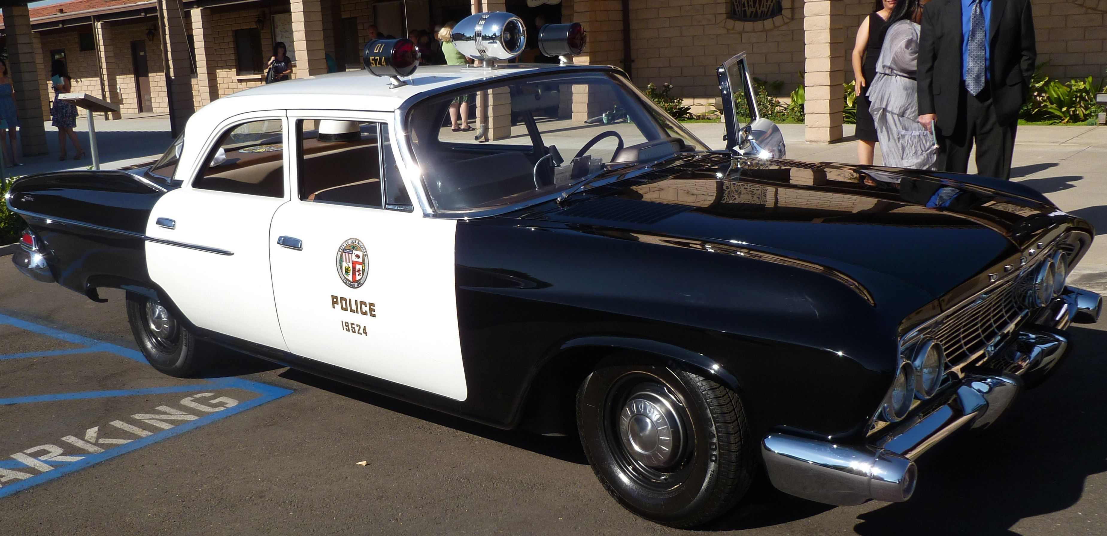 1950 S Lapd Black And White Police Car Police Cars Old Police Cars Ford Police