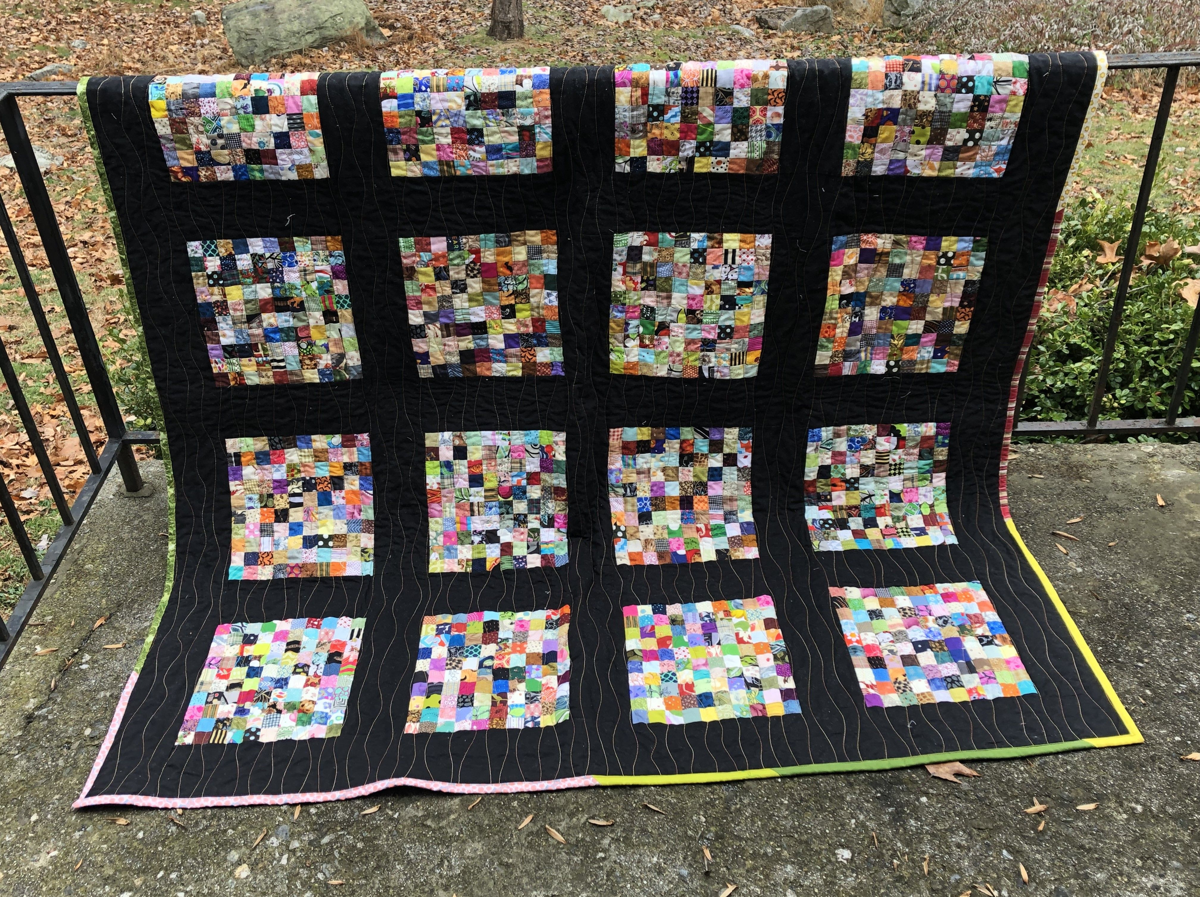 Free Pattern Postage Stamp Quilt Debby Brown Quilts Scrap
