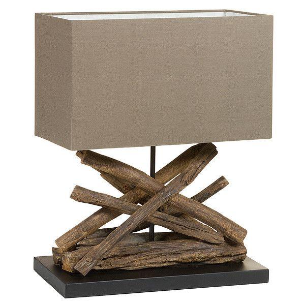 Desk Lamp Acacia (40 X 28 x 58 cm) Tischlampen